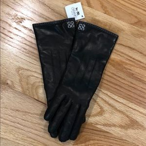 NWT Coach Leather Gloves